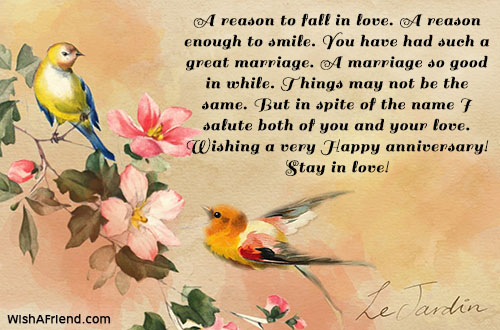 A reason to fall in love happy anniversary message happy anniversary messages m4hsunfo