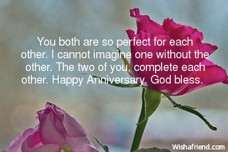 Happy Anniversary To You Both Cards