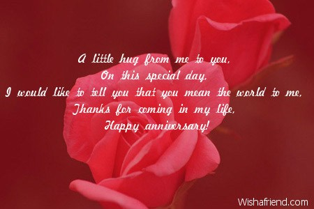 Anniversary messages for husband