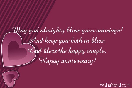 Religious Wedding Anniversary Wishes