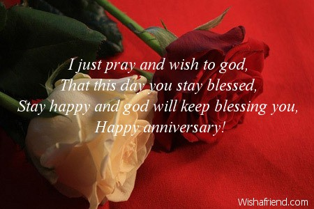 Religious Wedding Anniversary Wishes To Parents