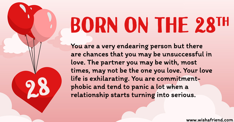 What does your birth date say about you