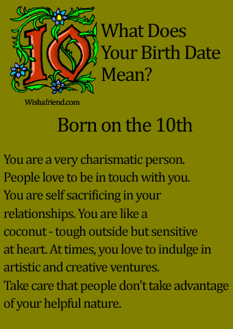 birth date first date