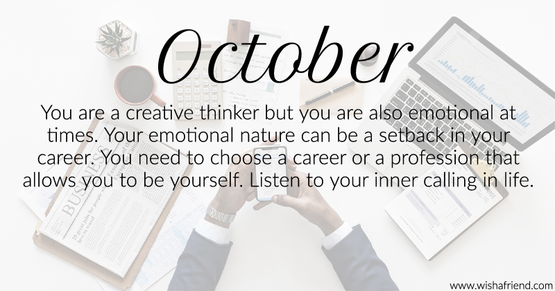October Birthday Month What does your birth month say about your ...