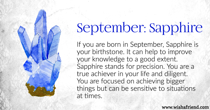 your birth is september