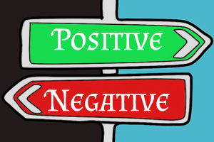 Positive and Negatives
