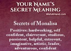Name Secrets