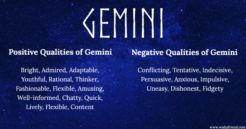 Pros and cons of dating a gemini woman