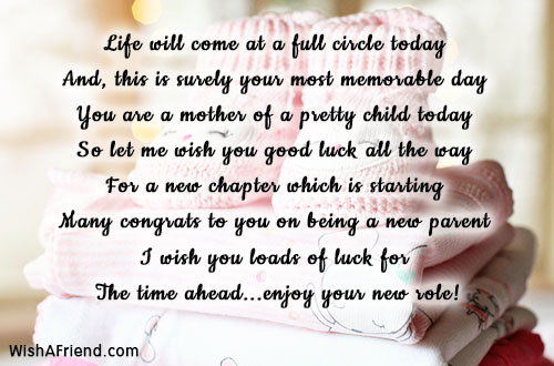 Come Full Circle Quotes: New Baby Congratulations