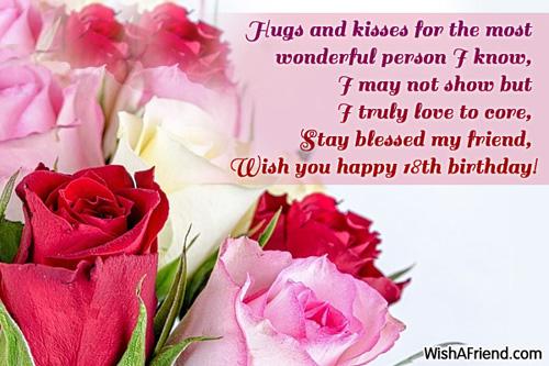 18th birthday wishes 10342 18th birthday wishes m4hsunfo