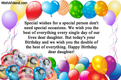 1049 Daughter Birthday Wishes