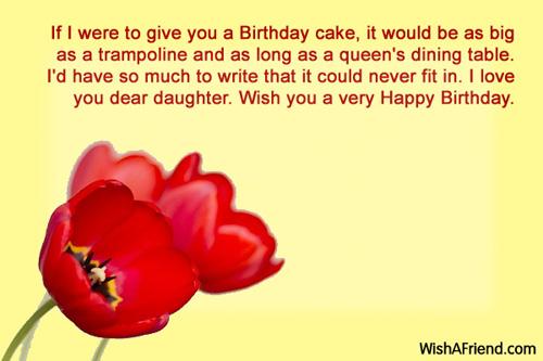 1059 Daughter Birthday Wishes