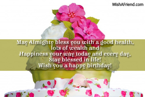 May almighty bless you with a religious birthday wish 10886 religious birthday wishes altavistaventures Images