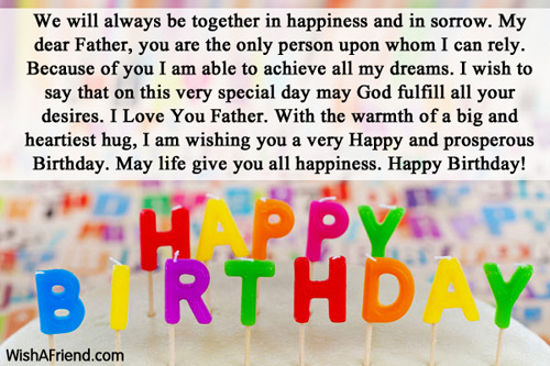 Dad Birthday Messages Page 3