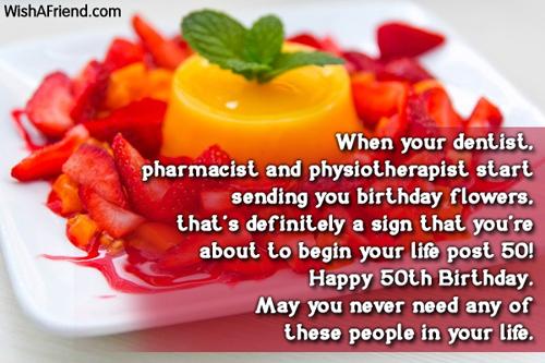 50th birthday quotes sister on quotestopics happy 50th birthday message 500x333 m4hsunfo