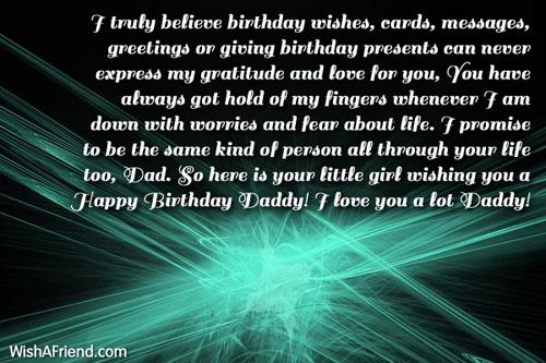 I truly believe birthday wishes cards dad birthday message 11659 dad birthday messages m4hsunfo