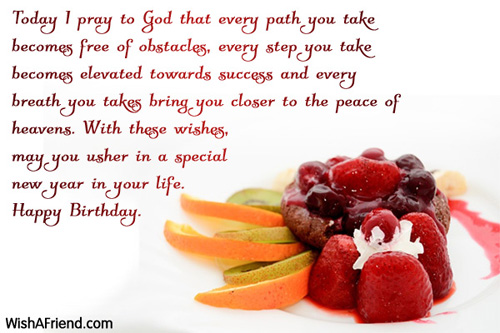 Christian Birthday Wishes – Christian Birthday Greetings