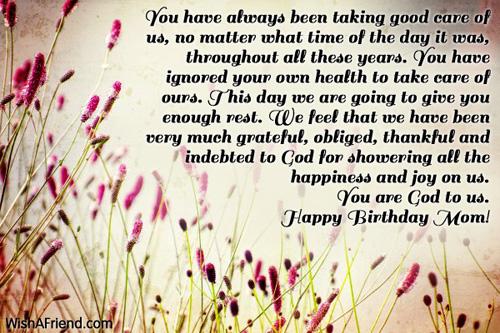 Mom birthday messages 11670 mom birthday messages m4hsunfo