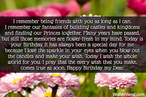 Sayings In Birthday Cards For Best Friend : Best friend birthday wishes page