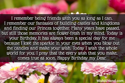 Best friend birthday wishes 11746 best friend birthday wishes m4hsunfo