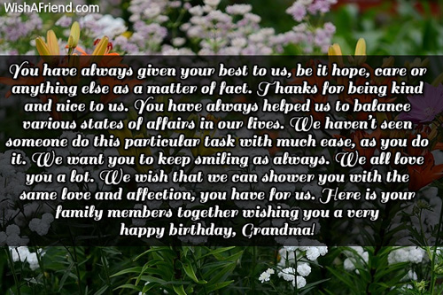 my grandmothers birthday My polish grandmother is turning 90 in july she still drives and loves to argue politics (she's a ny dem) it's going to be a great party.