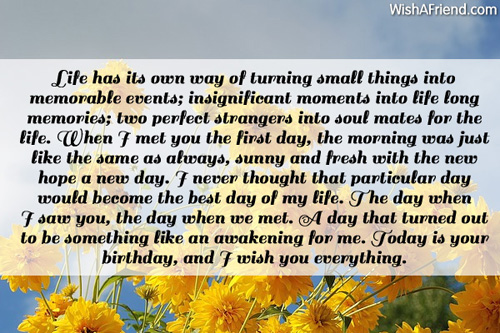 Birthday wishes for husband page