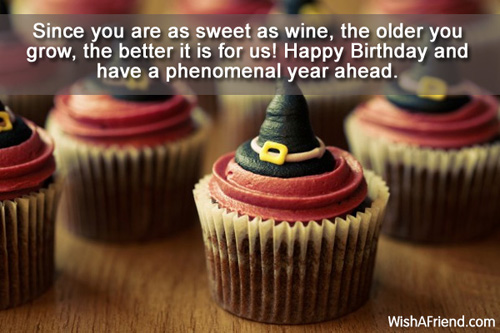 Happy Birthday Wishes Year Ahead ~ Funny birthday wishes