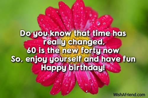 60th birthday wishes m4hsunfo
