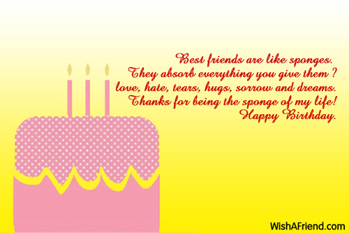 Best friend birthday wishes 1203 best friend birthday wishes m4hsunfo Gallery