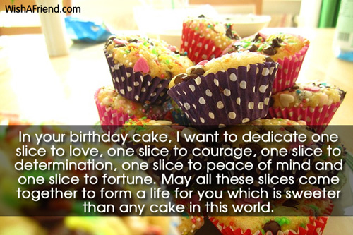 In your birthday cake I want Best Friend Birthday Wish