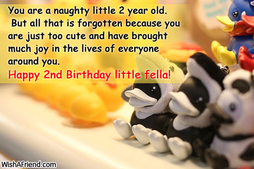 Birthday Wishes Daughter 2 Years Old ~ Happy nd birthday baby boy quotes
