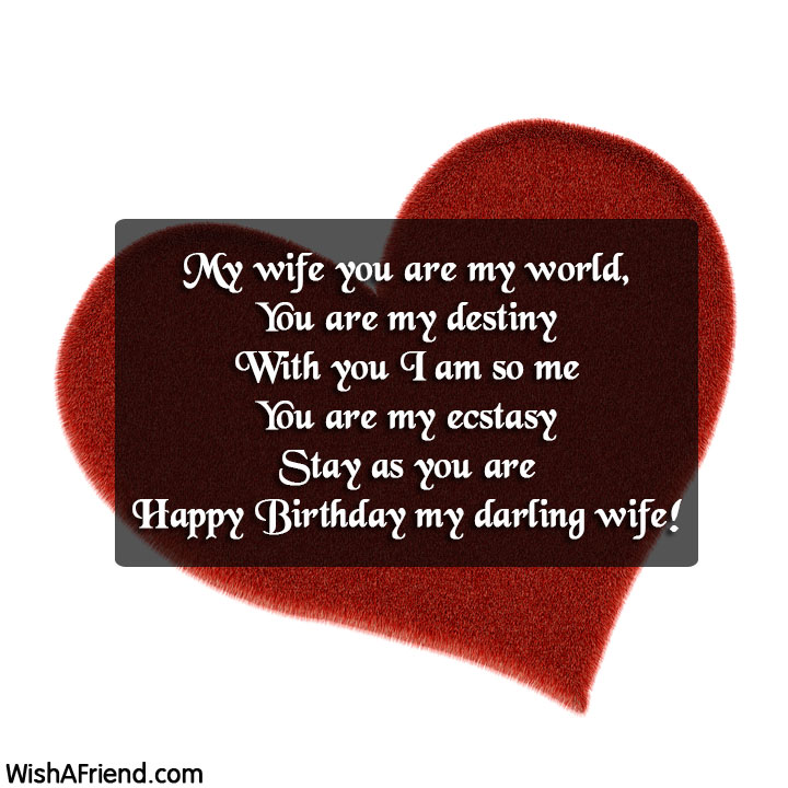 12453 birthday quotes for wife