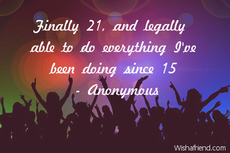 21st Birthday Quotes Stunning 48st Birthday Quotes