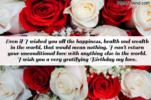 Love birthday messages 1354 love birthday messages m4hsunfo