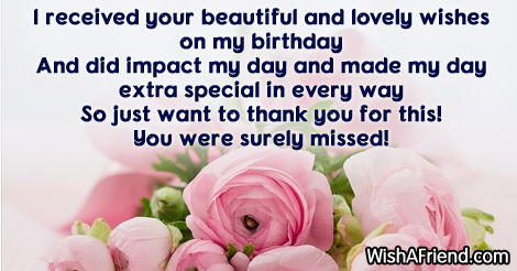 Thank you for the birthday wishes 13974 thank you for the birthday wishes m4hsunfo