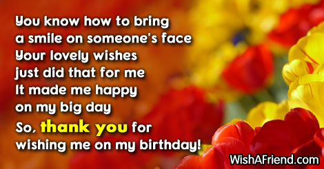 Thank you for the birthday wishes 13975 thank you for the birthday wishes m4hsunfo