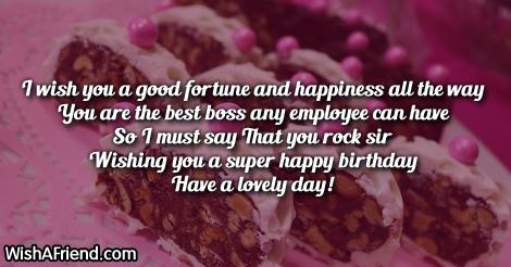 14578 Boss Birthday Wishes