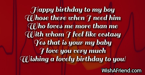 14884 Birthday Wishes For Boyfriend