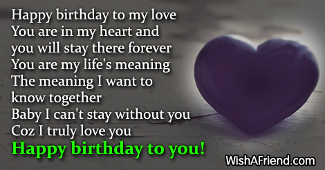 14893 Birthday Wishes For Boyfriend