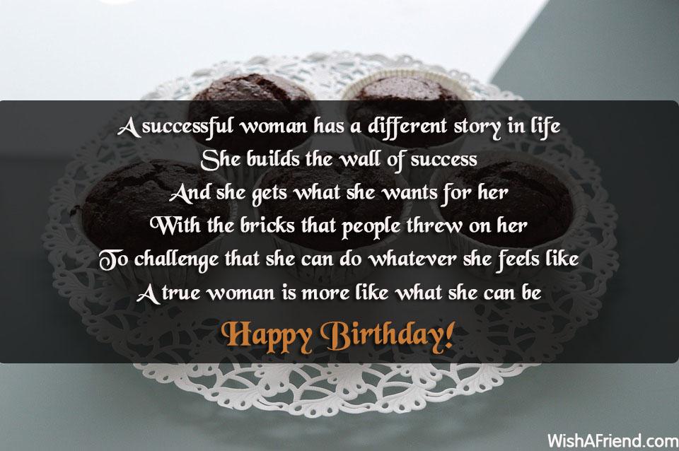 Women Birthday Sayings
