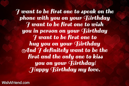Girlfriend Birthday Messages