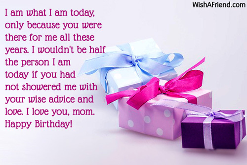 Mom Birthday Messages – Birthday Greetings for Mother