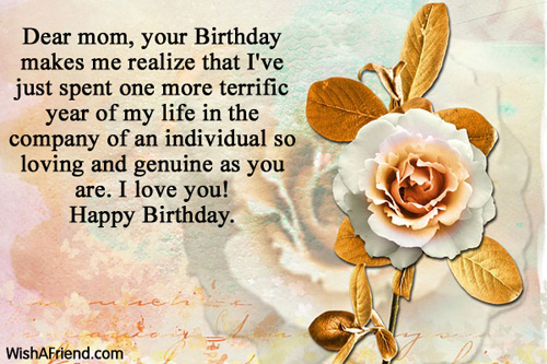 Mom Birthday Messages
