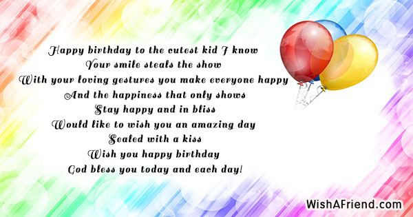 16957 Kids Birthday Quotes