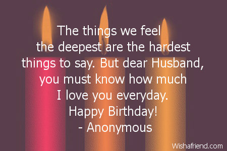 Birthday Quotes For Husband Mesmerizing Happy Birthday Husband Quotes