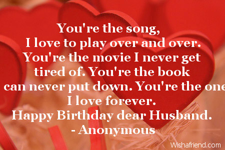 Love Quotes For Husband: Love Quotes For Husband Birthday