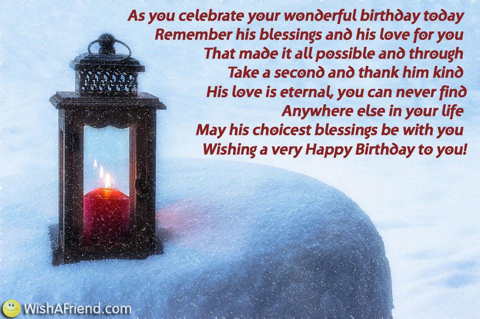 Happy Birthday Quotes Him ~ Religious birthday quotes