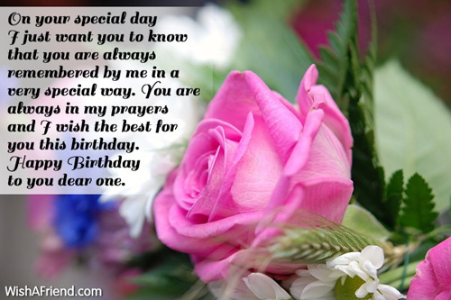Happy Birthday Greetings – Special Birthday Cards for Someone Special