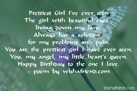 poems for girls