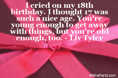 turning 18 quotes funny